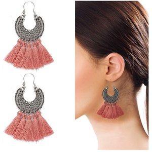 Jewelry - • Bohemian Tassel Earrings •
